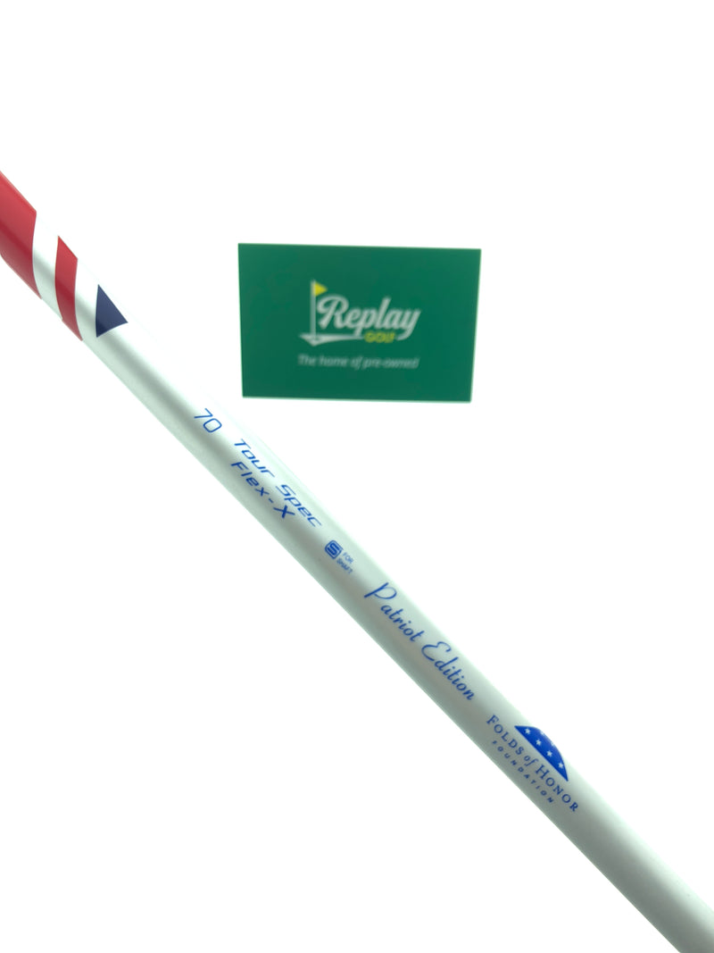 Fujikura Fuel Tour Spec 70 Patriot Edition Fairway Shaft / X-Flex / Callaway Adapter - Replay Golf