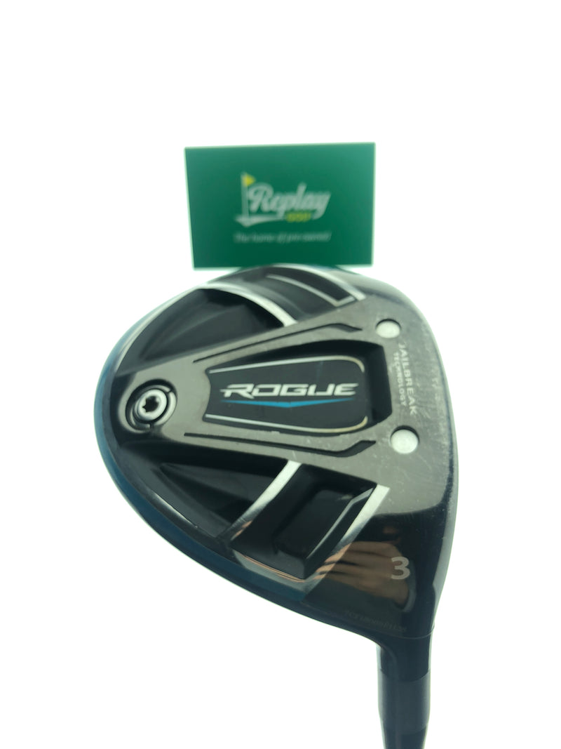TOUR ISSUE Callaway Rogue 3 Wood / 15 Degree / Tensei Orange CK 70 X-Flex - Replay Golf