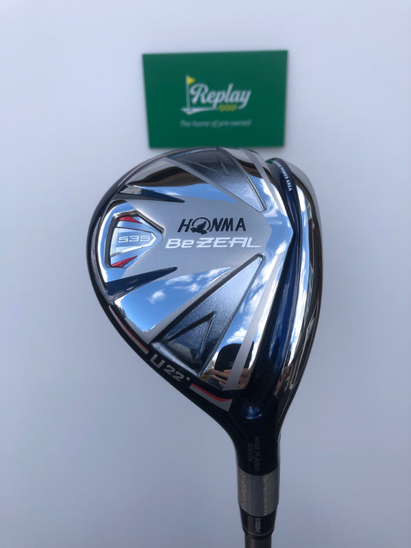 Honma BeZEAL 535 4 Hybrid / 22 Degree / Vizard 48 Regular Flex