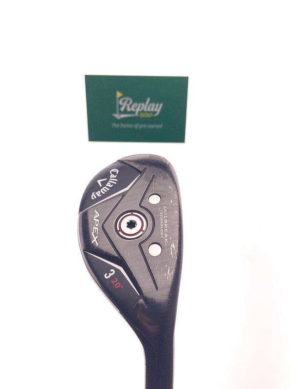 Callaway Apex 19 3 Hybrid / 20 Degrees / Project X Catalyst 5.5 Regular Flex - Replay Golf