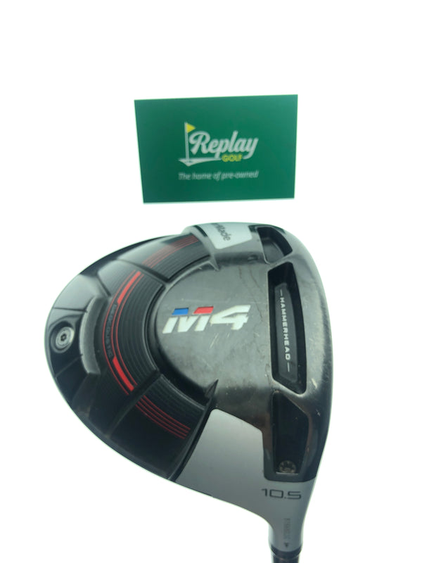 TaylorMade M4 Driver / 10.5 Degrees / Project X HZRDUS 6.0 Stiff Flex - Replay Golf