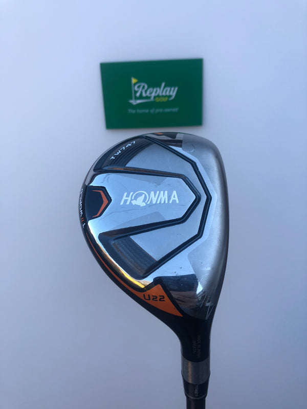Honma TW747 Utility 4 Hybrid / 22 Degree / Vizard Ultra Flex (Senior Flex)