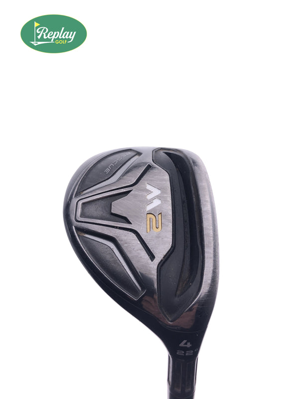 TaylorMade M2 2016 4 Hybrid / 22 Degrees / REAX 65 Regular Flex - Replay Golf