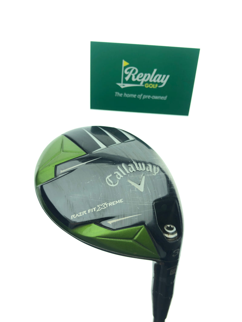 Callaway Razr Fit Xtreme 3 Fairway Wood / 15 Degree / Aldila Trinity F75 Stiff Flex - Replay Golf