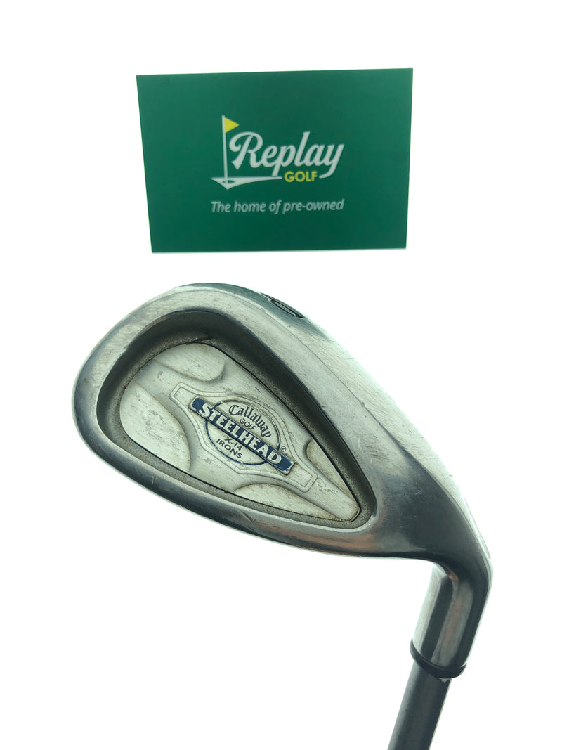 Callaway X-14 Pitching Wedge / 46.5 Degrees / Graphite Regular Flex - Replay Golf