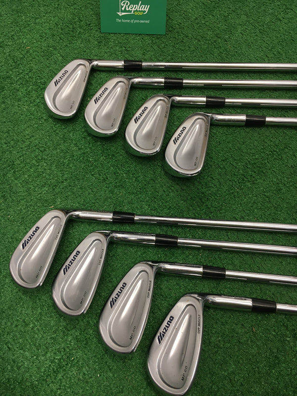 Mizuno MP 60 Iron Set / 3 - PW / Dynamic Gold Regular Flex