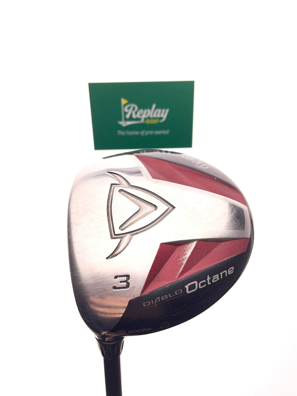Callaway Diablo Octane 3 Fairway Wood / 15 Degree / Graphite A Flex / LEFT HAND - Replay Golf