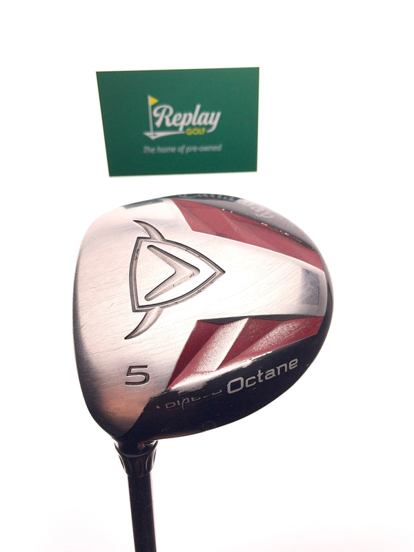 Callaway Diablo Octane 5 Wood / 18 Degree / Graphite A Flex Flex / LEFT HAND - Replay Golf