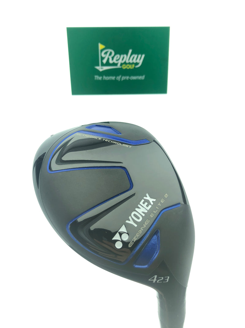 Yonex EZONE Elite 2 4 Hybrid / 23 Degrees / Yonex M55 Regular Flex - Replay Golf