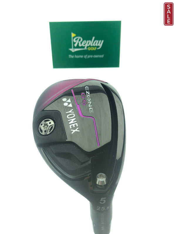 Yonex Ezone GS 5 Hybrid / 25.5 Degrees / Yonex EX-330 Ladies Flex - Replay Golf