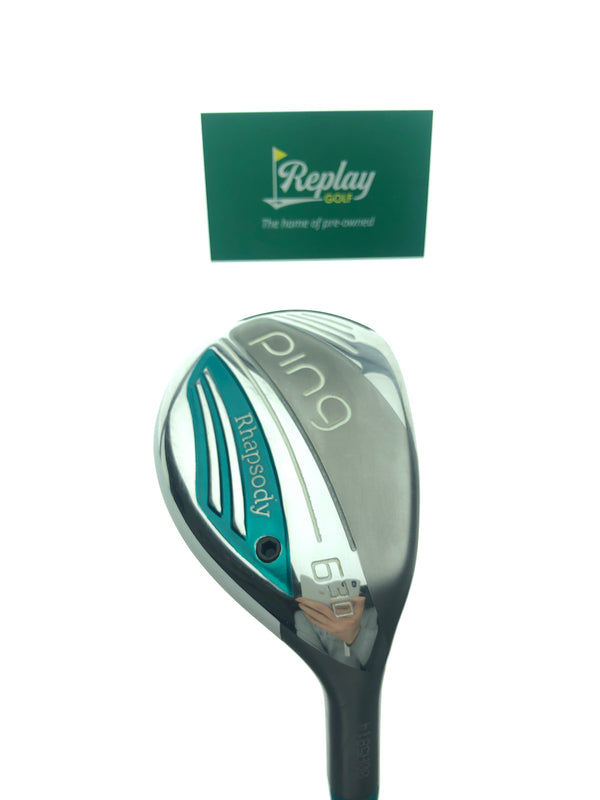 Ping 2015 Rhapsody 6 Hybrid / 30 Degrees / Ping ULT 220 Ladies Flex