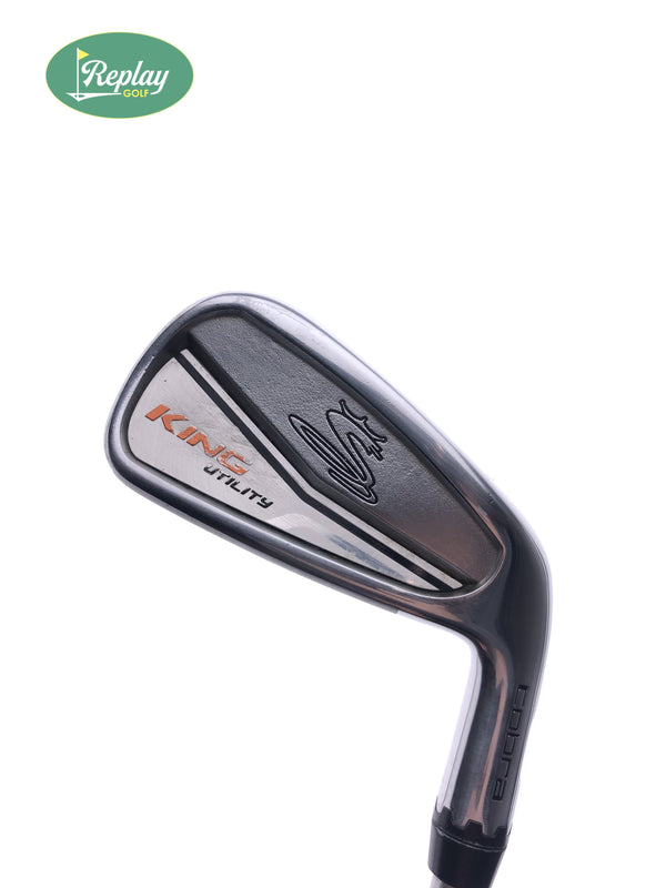 Cobra King UT 3 Hybrid / 18 Degrees / KBS Tour C-Taper Lite 110 Stiff Flex - Replay Golf