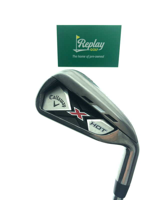 Callaway 2013 X Hot 6 Iron / 26 Degree / True Temper Speed Step 85 Stiff Flex - Replay Golf