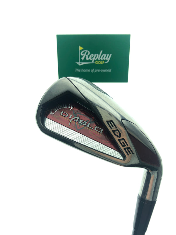 Callaway Diablo Edge DEMO 6 Iron / 28 Degrees / Graphite Stiff Flex - Replay Golf