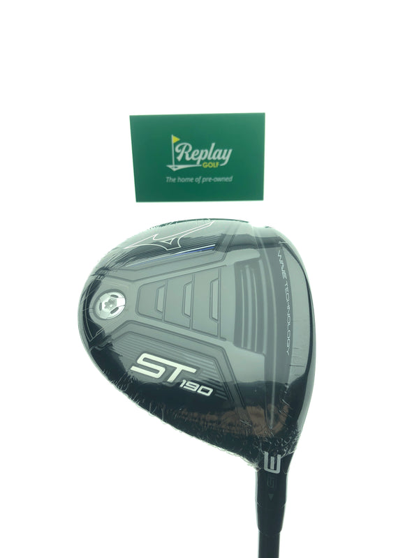NEW Mizuno ST190 3 Fairway Wood / 15 Degrees / Kuro Kage 60 S Stiff Flex - Replay Golf