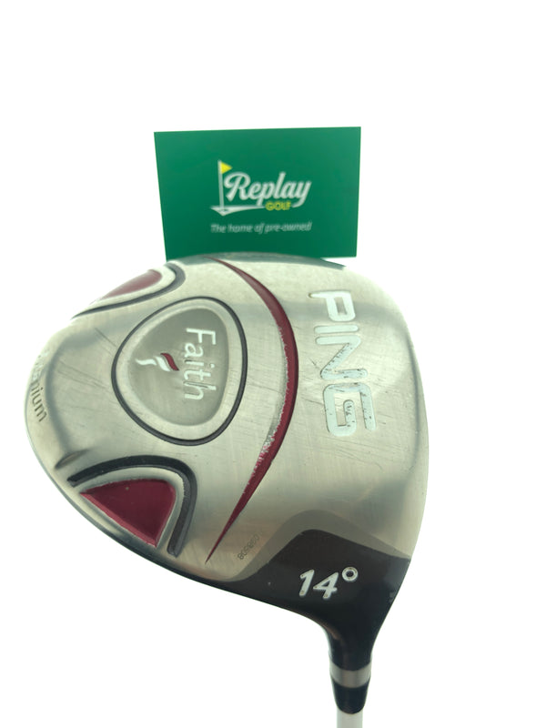 Ping Faith Driver / 14 Degree / Ping ULT 200 Ladies Flex - Replay Golf