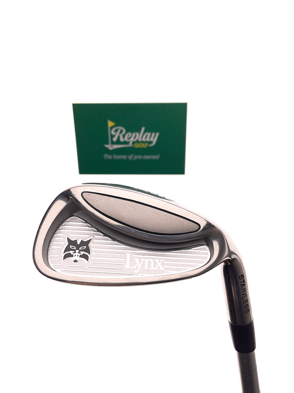 Lynx Junior Silver 9 Iron / Age 11-14  / Junior Flex - Replay Golf