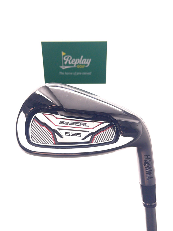 Honma BeZEAL 535 7 Iron / 28.5 Degrees / Graphite Vizard 48 Regular Flex - Replay Golf