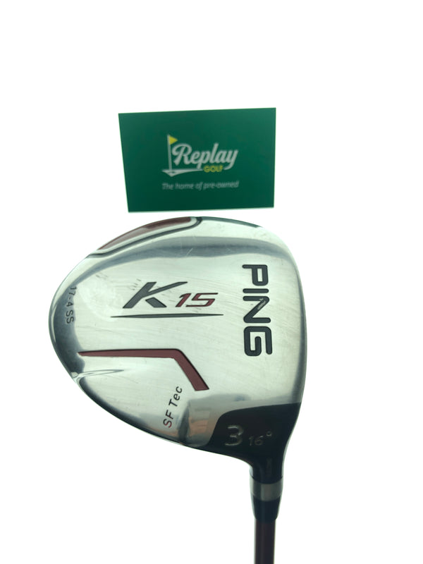 Ping K15 3 Fairway Wood / 16 Degree / Ping TFC 149 Regular Flex