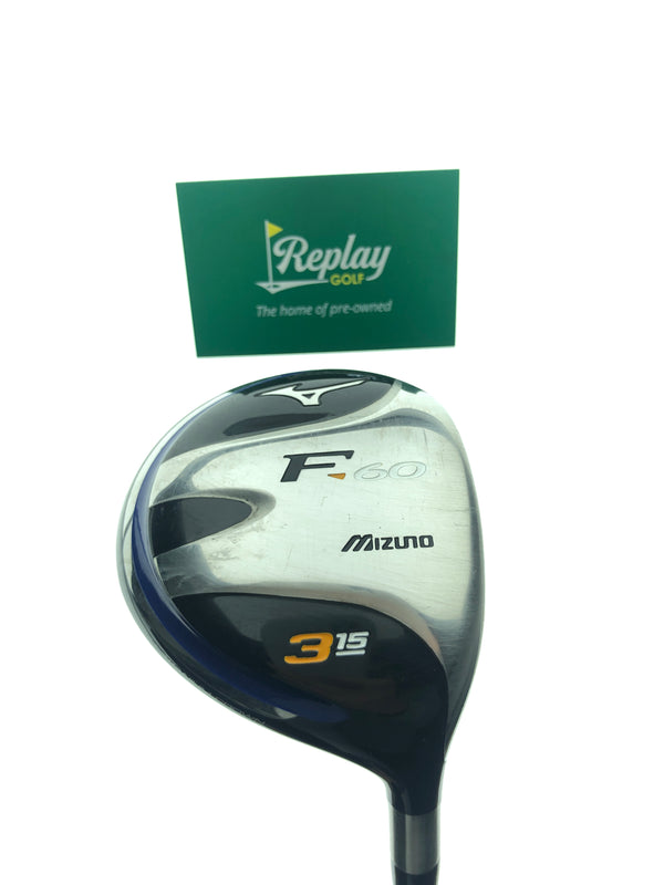 Mizuno Ladies F-60 3 Fairway Wood / 15 Degree / Ladies Flex