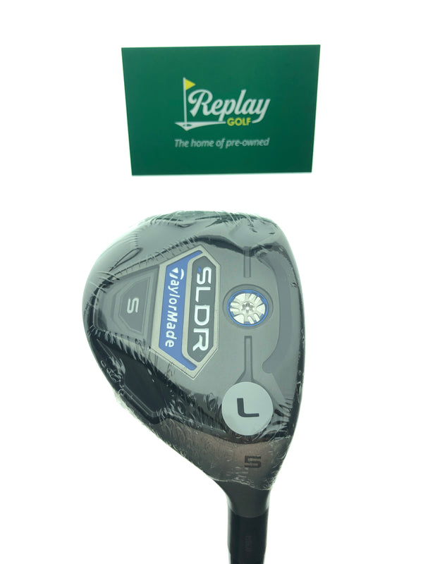 NEW TaylorMade Ladies SLDR S 5 Hybrid / 25 Degrees / Fujikura Ladies Lite Flex - Replay Golf