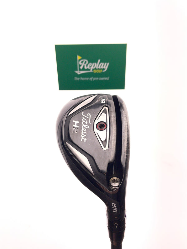 Titleist 816 H2 3 Hybrid / 19 Degrees / Project X HZRDUS Hand Crafted 6.5 X-Flex - Replay Golf