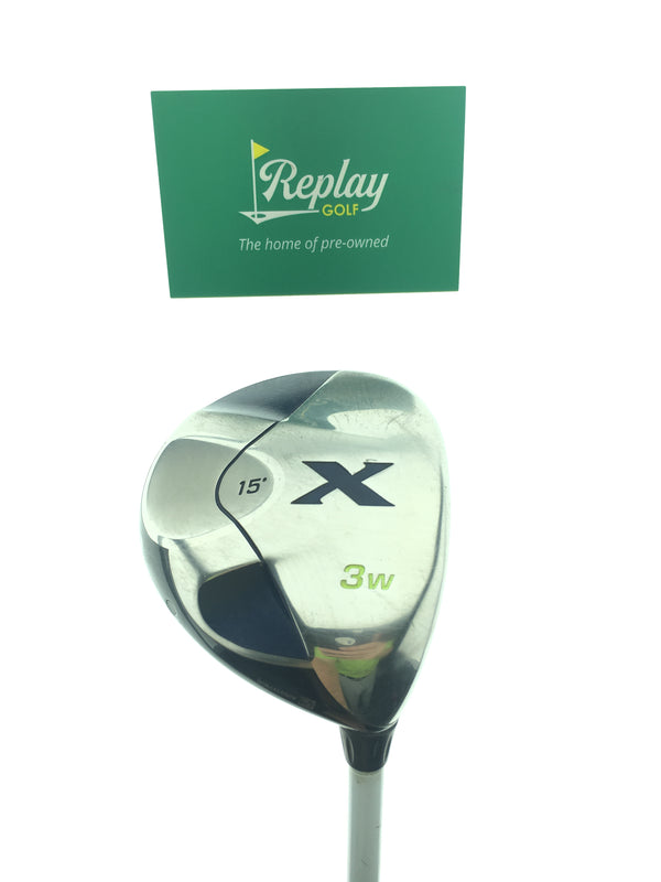 Callaway X 3 Fairway Wood / 15 Degrees / Callaway Steel Uniflex