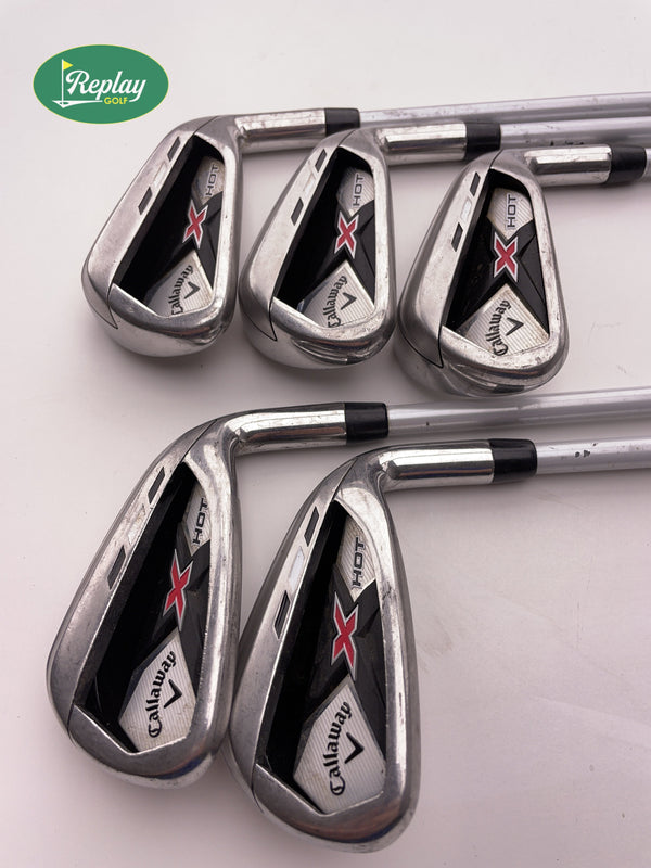 Callaway X Hot 2013 Iron Set / 5 - 9i / Callaway X Hot Regular Flex