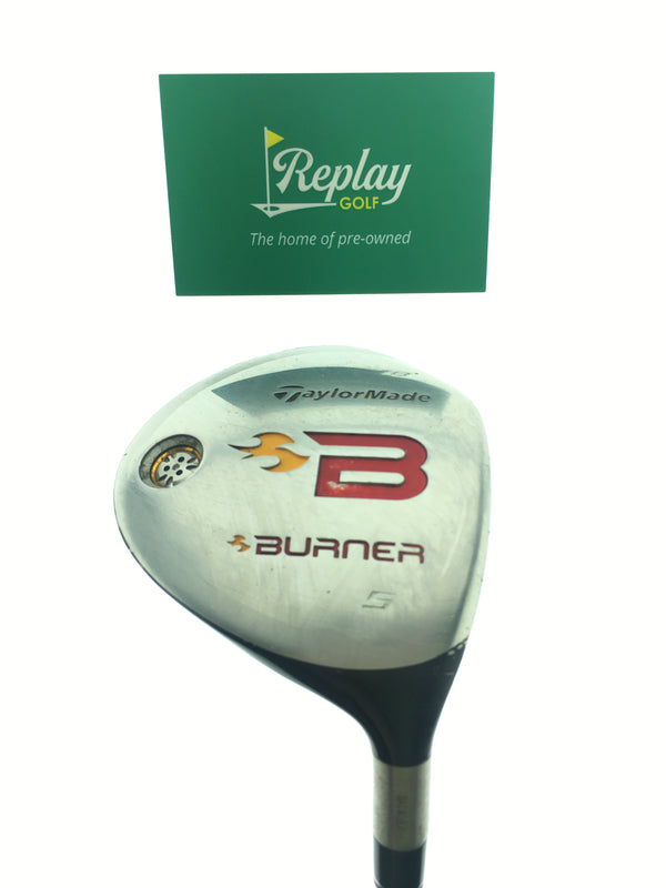 TaylorMade 2008 Burner 5 Fairway Wood / 18 Degrees / Taylormade Reax 49 R Flex