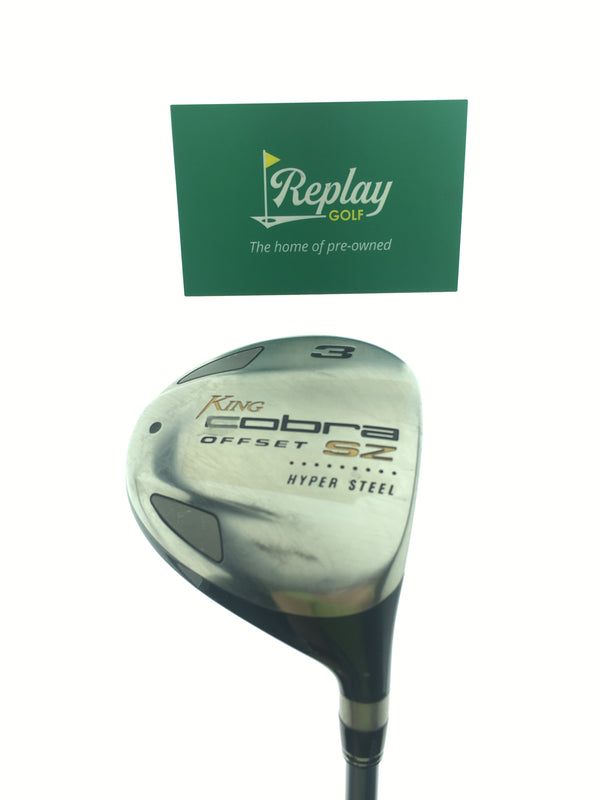 King Cobra Offset 3 Fairway Wood / 15 Degrees / Cobra Aldila HM 50 Ladies Flex - Replay Golf
