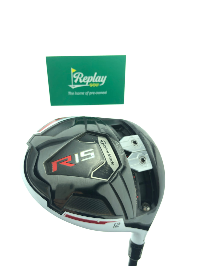 TaylorMade R15 430 Driver / 12 Degrees / Fujikura Speeder 757 Tour Spec Stiff Flex - Replay Golf