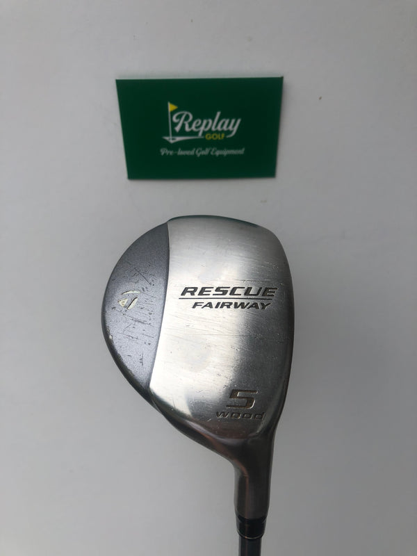 Taylormade Ladies Rescue Fairway #5 Wood / Graphite Ladies Flex-Replay Golf