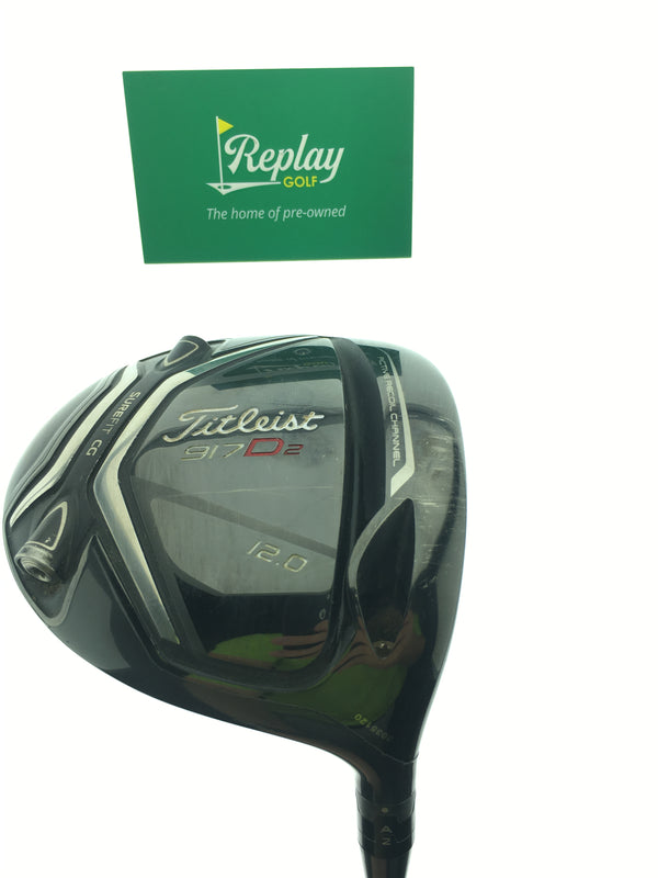Titleist 917 D2 Driver / 12.0 Degrees / Diamana 40 Ladies Flex / Neutral Cartridge