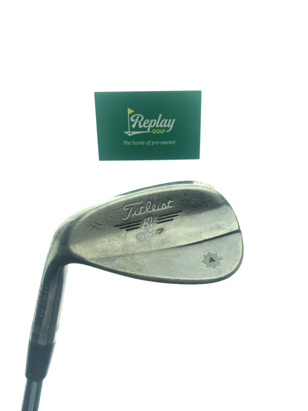 Titleist SM7 Brushed Steel Gap Wedge / 52 Degree / Wedge Flex / LEFT HANDED - Replay Golf
