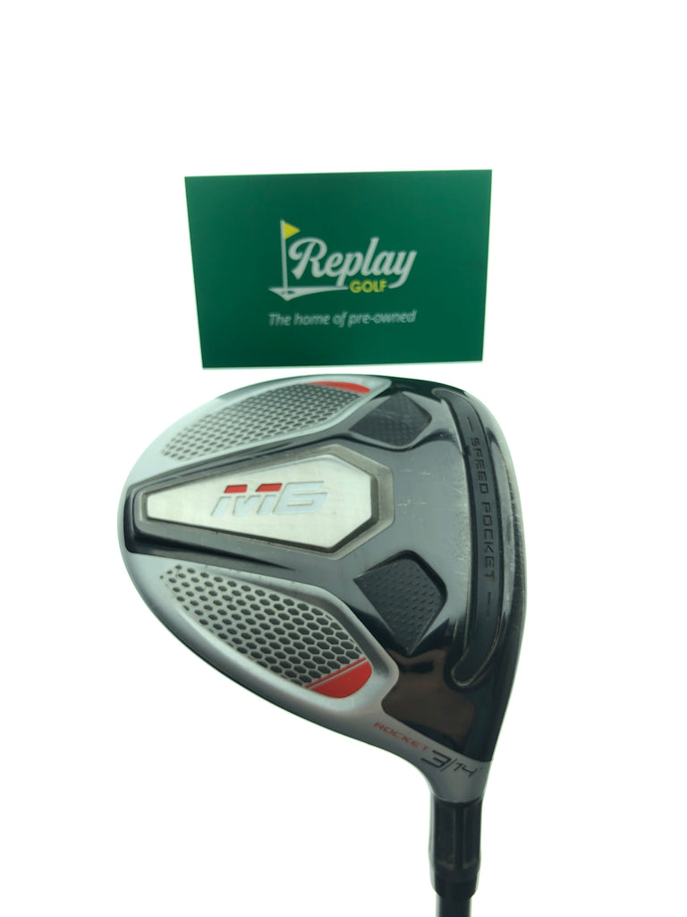 TaylorMade M6 Rocket 3 Fairway Wood / 14 Degrees / Project X HZRDUS 6.5 X-Flex - Replay Golf