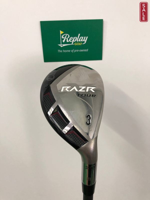 Callaway TOUR ISSUE RAZR X Tour #3 Hybrid / 21 Degrees / Aldila RIP X-Flex - Replay Golf