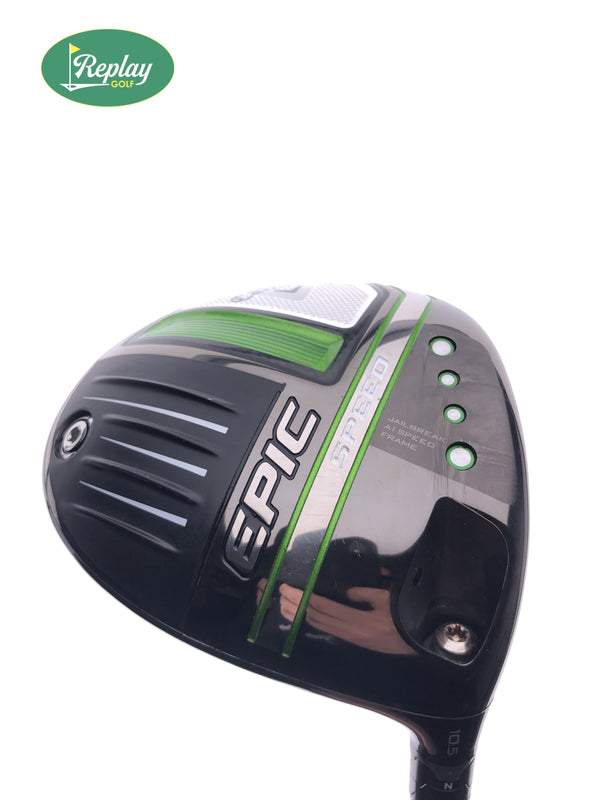 Callaway Epic Speed Driver / 10.5 Degrees / Project X HZRDUS Smoke Regular Flex - Replay Golf