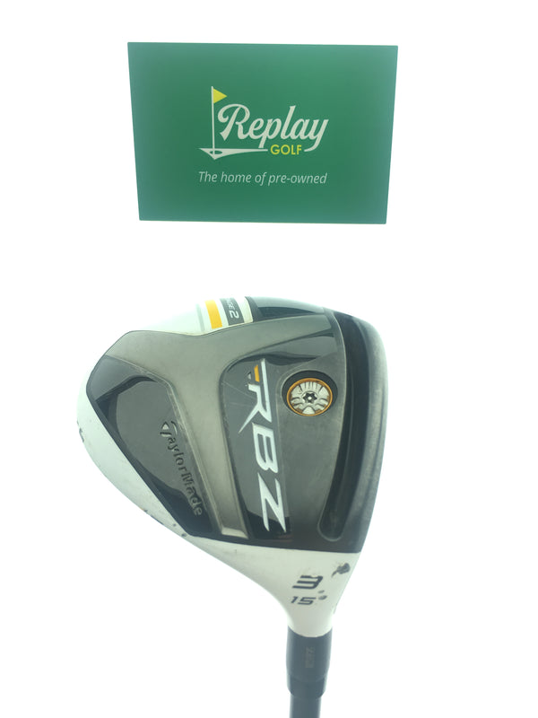 Taylormade RocketBallz Stage 2 3 F'way Wood / 15 Degree / Rocketfuel 60 S Flex - Replay Golf