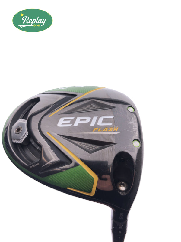 Callaway EPIC Flash Driver / 10.5 Degrees / Project X HZRDUS Smoke 6.0 Stiff Flex - Replay Golf
