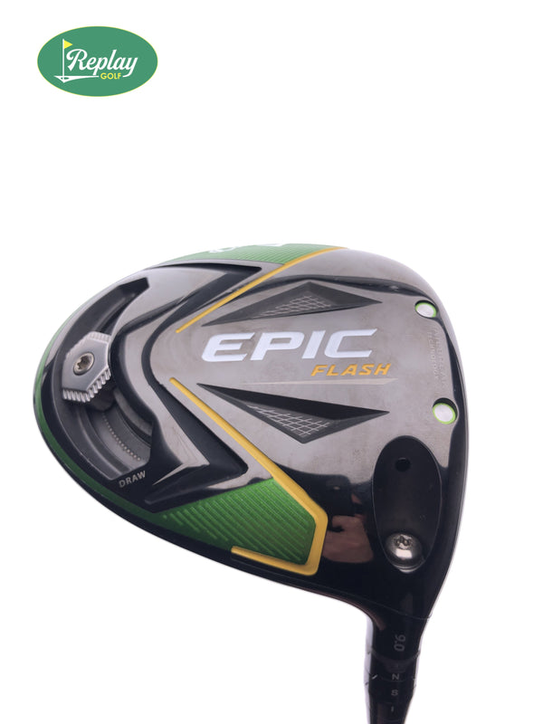 Callaway EPIC Flash Driver / 9.0 Degrees / Project X HZRDUS Smoke 6.0 Stiff Flex - Replay Golf