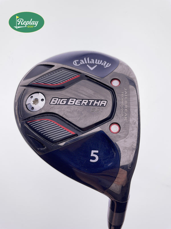 Callaway Big Bertha B21 5 Fairway Wood / 18 Degrees / Callaway RCH 65 Regular - Replay Golf
