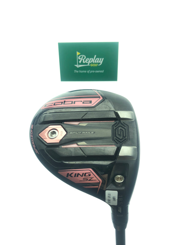 Cobra King Speedzone 3 Wood / 17-20 Degree / UST Helium Black 4F1 Ladies Flex - Replay Golf