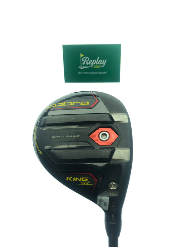Cobra KING Speezone TOUR 3 Wood / 12.5-15.5 Degree / Tensei AV Series 65 Reg - Replay Golf
