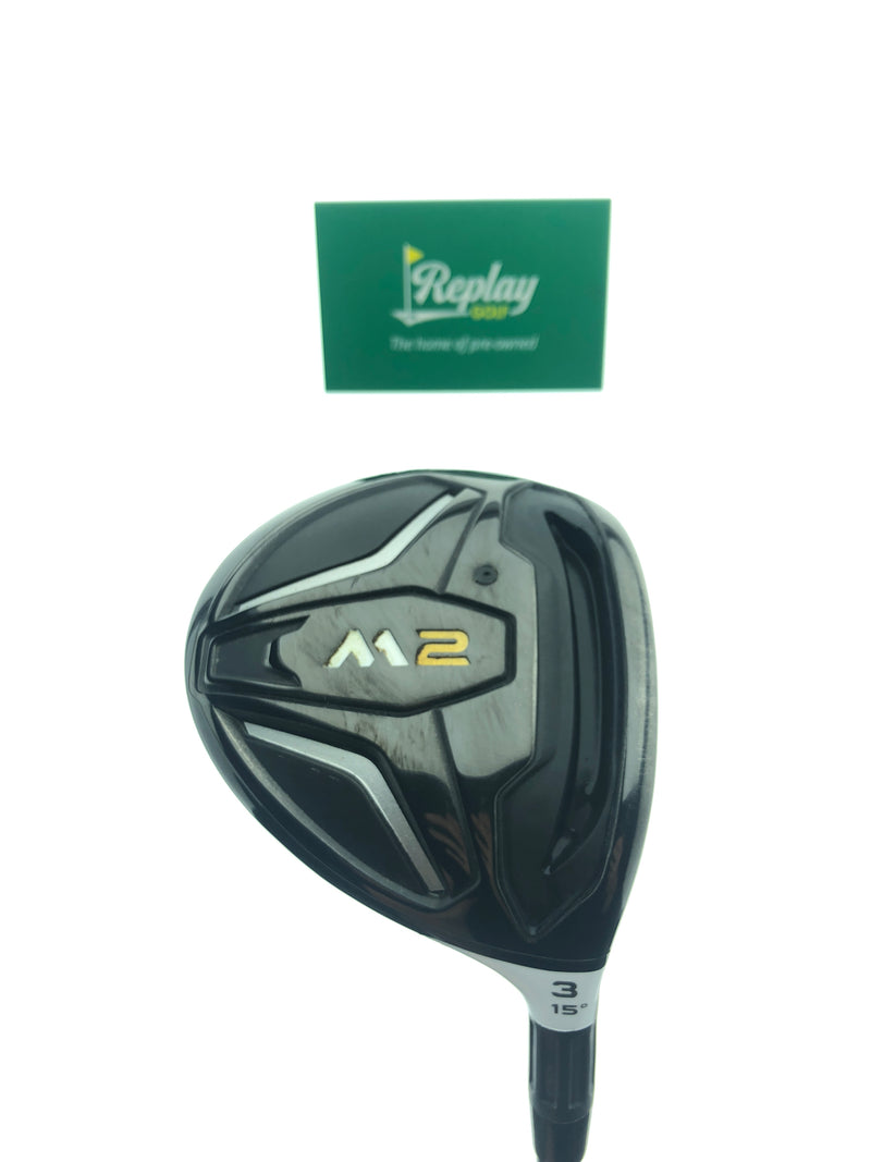 TOUR ISSUE TaylorMade 2016 M2 DEEP 3 Wood / 15 Degree / HAND CRAFTED 6.5 - Replay Golf