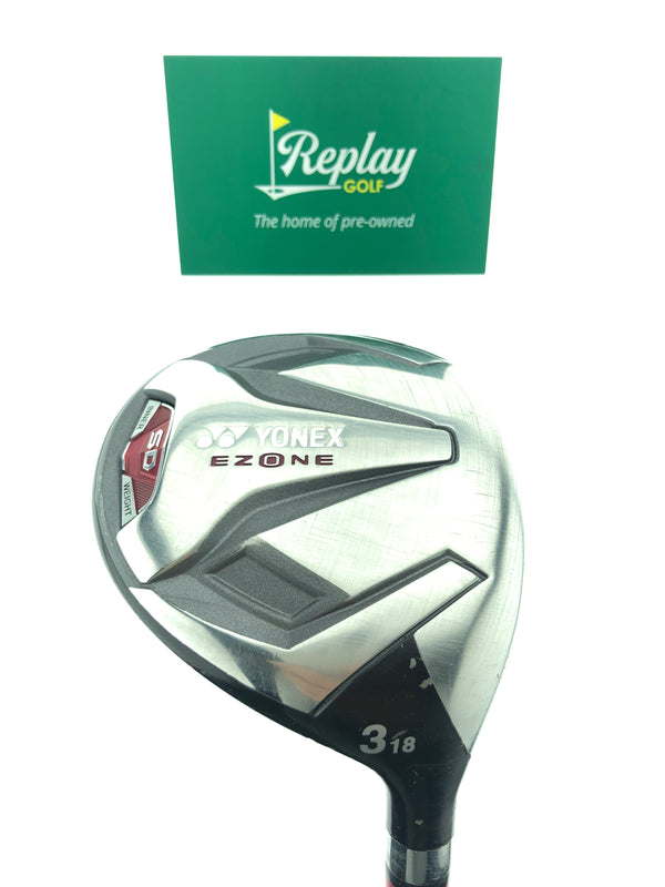Yonex Ladies  Ezone SD 3 Fairway Wood / 18 Degrees / Graphite Ladies Flex - Replay Golf