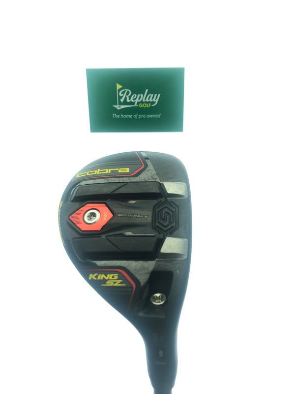 Cobra King Speedzone 4-5 Hybrid / 21 Degrees / Recoil ESK 480 F3 Regular Flex - Replay Golf