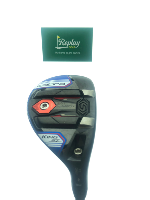 Cobra King Speedzone One Length 4-5 Hybrid / 21 Degree / Recoil ESK 480 F3 Reg - Replay Golf