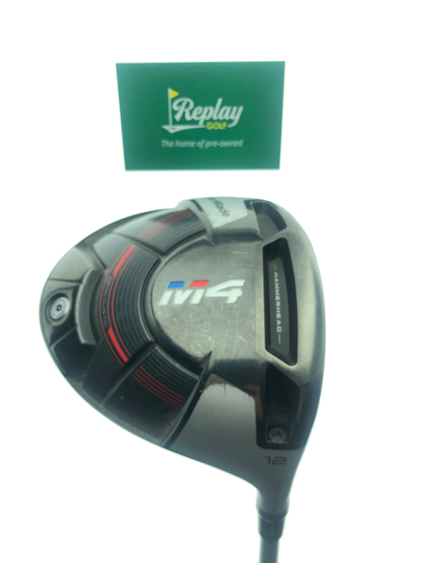 "TaylorMade M4 Driver / 12.0 Degrees / TaylorMade UltraLite 45 Ladies Flex / -2"" - Replay Golf"