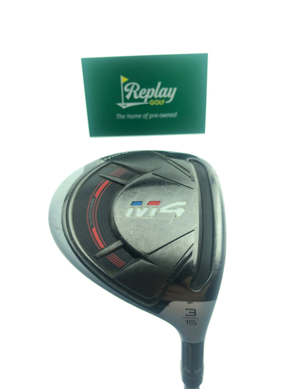 TaylorMade M4 3 Fairway Wood / 15 Degrees / TaylorMade Ultralite 45 Ladies Flex - Replay Golf