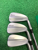 Taylormade RAC Tour Preferred TP Forged Irons / 6-PW / Riffle Flighted 6.0 Stiff-Replay Golf